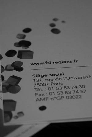 Avenir Entreprises - FSI Régions